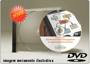 Videoaula Conhecimento Pedagógico Legislação Educacional Parte 1 – DVD