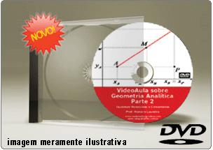 Videoaula Geometria Analítica – Parte 2 – DVD