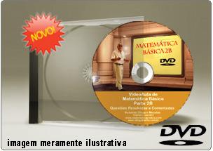 Videoaula Matemática Básica – Parte 2B – DVD