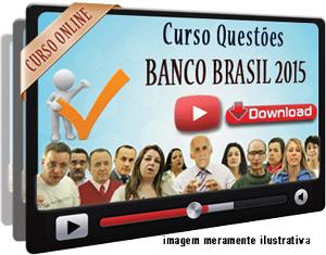 Videoaula Prova Matemática Português Cultura Organizacional BB 2015 – Download