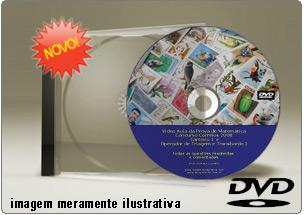 Videoaula Prova de Matemática Correios – Carteiro – DVD