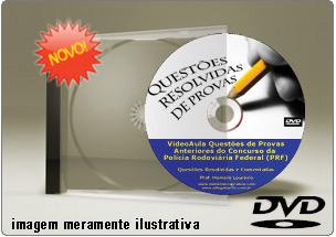 Videoaula Questões Matemática Provas Anteriores PRF – DVD