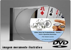 Videoaula de Probabilidades – DVD