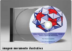 Videoaula Geometria Espacial – DVD
