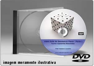 Videoaula de Geometria Plana – DVD