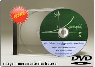 Videoaula de Funções Exponenciais Parte 1 – DVD