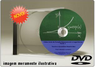 Videoaula de Funções Exponenciais Parte 2 – DVD