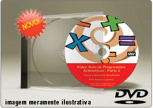 Videoaula de Progressão Aritmética Parte 2 – DVD