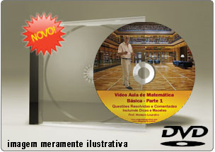 Videoaula de Matemática Básica Parte 1 – DVD
