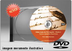 Videoaula Língua Portuguesa Parte 1 – DVD