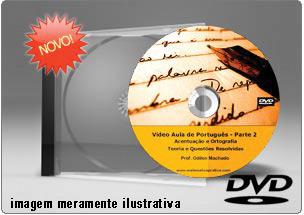 Videoaula Língua Portuguesa Parte 2 – DVD