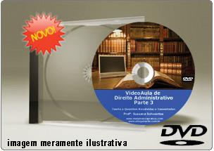 Videoaula de Direito Administrativo Parte 3 – DVD