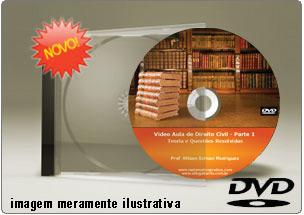 Videoaula de Direito Civil Parte 1 – DVD
