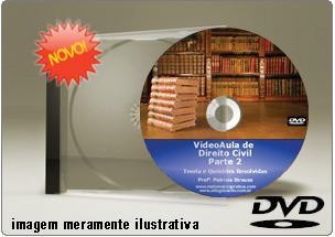 Videoaula de Direito Civil Parte 2 – DVD
