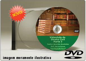 Videoaula de Direito Civil Parte 3 – DVD