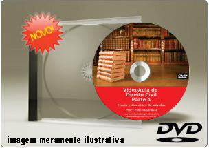 Videoaula de Direito Civil Parte 4 – DVD