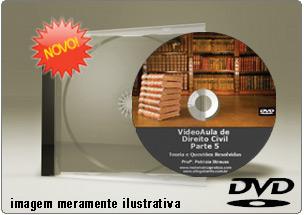 Videoaula de Direito Civil Parte 5 – DVD