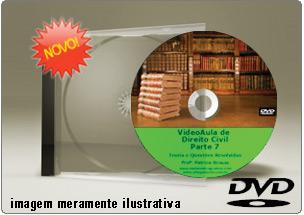 Videoaula de Direito Civil Parte 7 – DVD