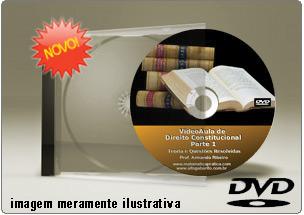 Videoaula de Direito Constitucional Parte 1 – DVD