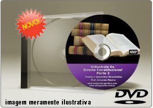 Videoaula de Direito Constitucional Parte 2 – DVD