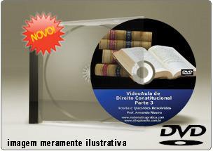 Videoaula de Direito Constitucional Parte 3 – DVD