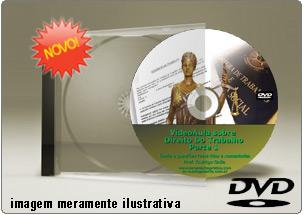 Videoaula de Direito do Trabalho Parte 1 – DVD