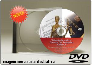 Videoaula de Direito do Trabalho Parte 2 – DVD
