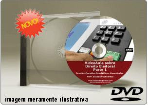 Videoaula de Direito Eleitoral – Parte 1 – DVD