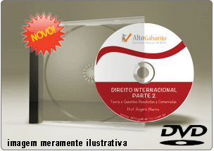 Videoaula de Direito Internacional – Parte 2 – DVD