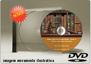 Videoaula de Direito Penal Parte 2 – DVD