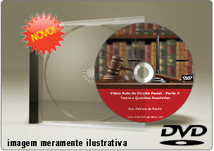 Videoaula de Direito Penal Parte 3 – DVD