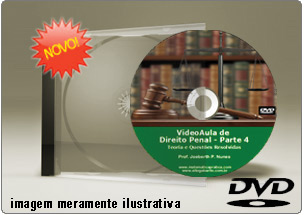 Videoaula de Direito Penal Parte 4 – DVD