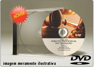 Videoaula de Direito Processual do Trabalho Parte 1 – DVD