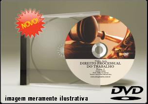 Videoaula de Direito Processual do Trabalho Parte 2 – DVD
