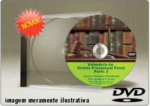 Videoaula de Direito Processual Penal – Parte 2 – DVD