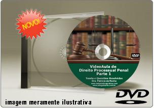 Videoaula de Direito Processual Penal – Parte 1 – DVD