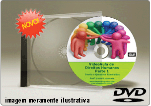 Videoaula de Direitos Humanos Parte 1 – DVD