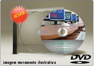 Videoaula de Informática – Parte 7 – DVD