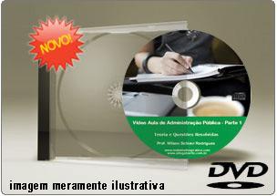 Videoaula Administração Geral e Pública – Parte 1 – DVD