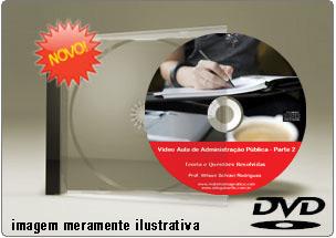 Videoaula Administração Geral e Pública – Parte 2 – DVD