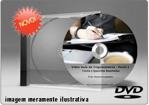 Videoaula de Trigonometria – DVD