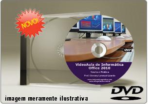 Videoaula de Office 2010 – DVD