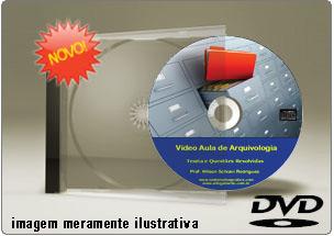 Videoaula de Arquivologia – DVD