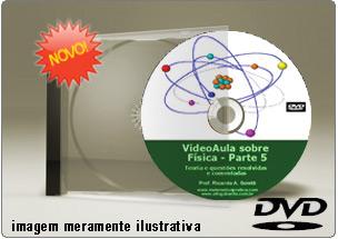 Videoaula sobre Física Parte 5 – DVD