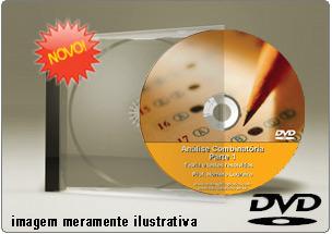Videoaula Análise Combinatória – Parte 1 – DVD