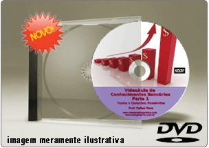 Videoaula Conhecimentos Bancários – Parte 1 – DVD