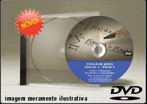 Videoaula sobre Cálculo I – Parte 1 – DVD