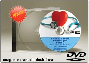 Videoaula de Enfermagem – Parte 2 – DVD