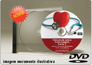 Videoaula de Enfermagem – Parte 1 – DVD