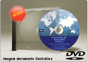 Videoaula de Geografia – Parte 1 – DVD